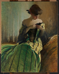 Study in Black and Green