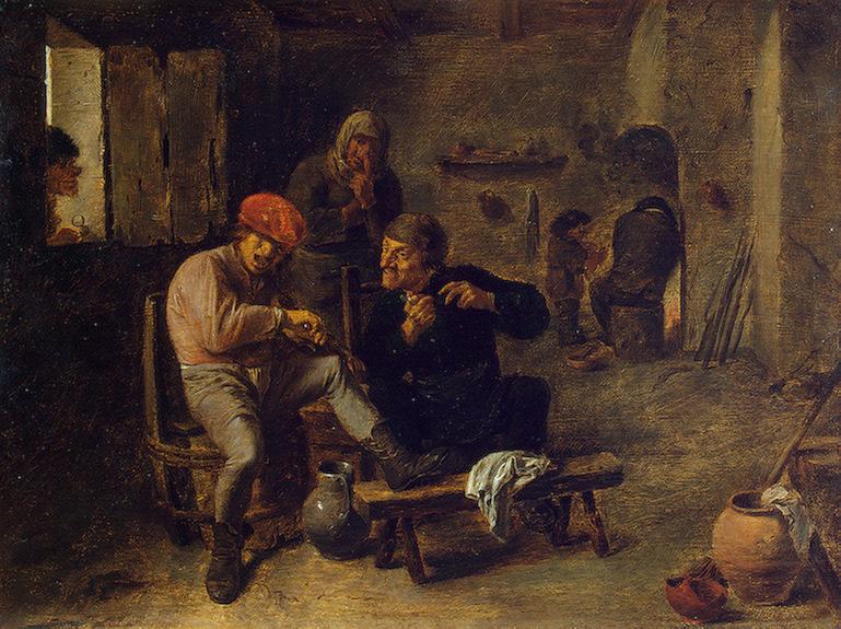 Tavern Scene (The Village Fiddler)