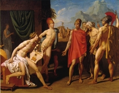 The Ambassadors of Agamemnon in the tent of Achilles