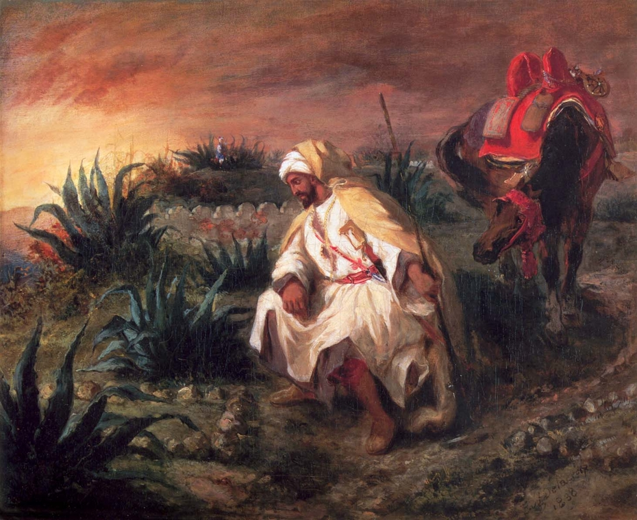 The Arabs at the Grave