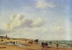 The Beach at Scheveningen