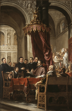 The Conversion and Baptism of St. Augustine by...