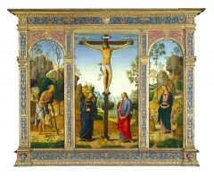 The Crucifixion with the Virgin, Saint John, Saint Jerome, and Saint Mary Magdalene