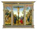 The Crucifixion with the Virgin, Saint John, Saint Jerome, and Saint Mary Magdalene