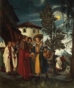 The Departure of Saint Florian