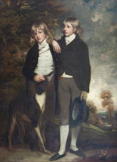 The Hon. John Cust, later 1st Earl Brownlow, GCH, FRS, MP, (1779-1853) (1779-1853) and his Brother the Hon. and later the Reverend Henry Cockayne Cust (1780-1861)