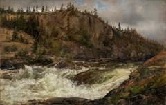 The Lower Falls of Trollhättan