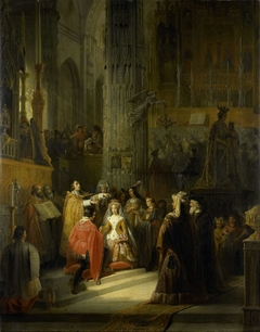The Marriage of Jacqueline, Countess of Hainaut (Jacoba of Bavaria), and John IV, Duke of Brabant, on 10 March 1418