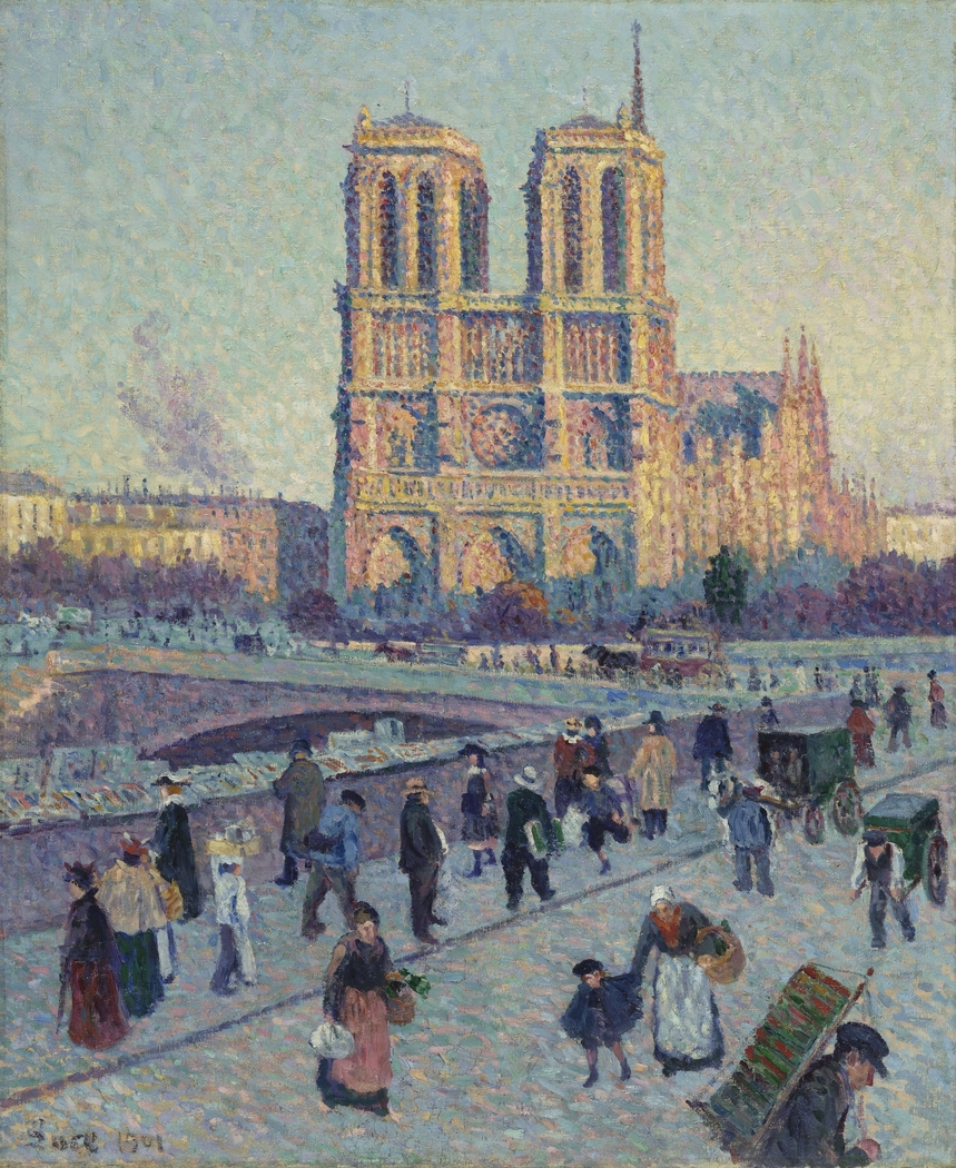 The Quai Saint-Michel and Notre-Dame