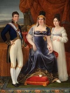 The Queen of Etruria and her Children
