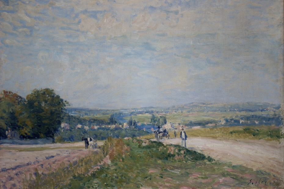 The Road from Montbuisson to Louveciennes
