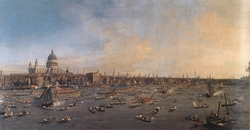 The Thames and the City