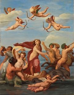 The Triumph of Galatea, a copy after Raphael (Raffaello Sanzio)