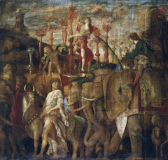 The Triumphs of Caesar: 5. The Elephants