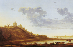 The Valkhof at Nijmegen from the East