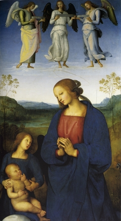 The Virgin and Child with an Angel