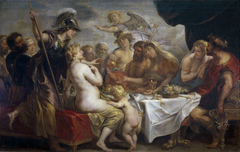 The wedding of Thetis and Peleus