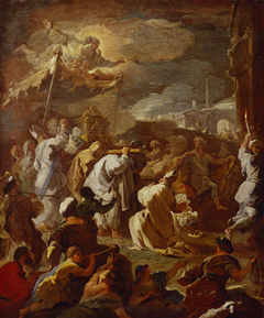 Transfer of the Ark of the Covenant by David