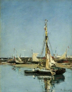 Trouville, the Jetties at Low Tide