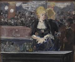 Un bar aux Folies-Bergère