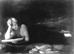 Maria Maddalena leggente