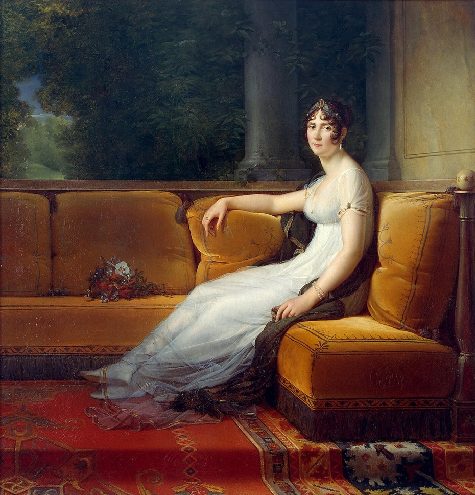Madame Bonaparte at Malmaison
