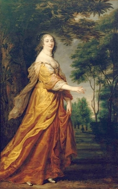Portrait of Marie Louise Gonzaga de Nevers