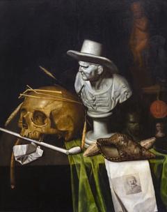 Vanitéstill-life with bust