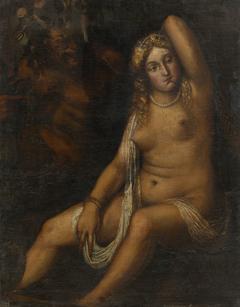 Venus and a Satyr