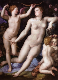 Venus, Cupid and Jealousy