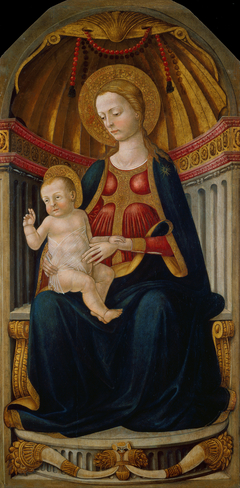 Virgin and Child on the Throne