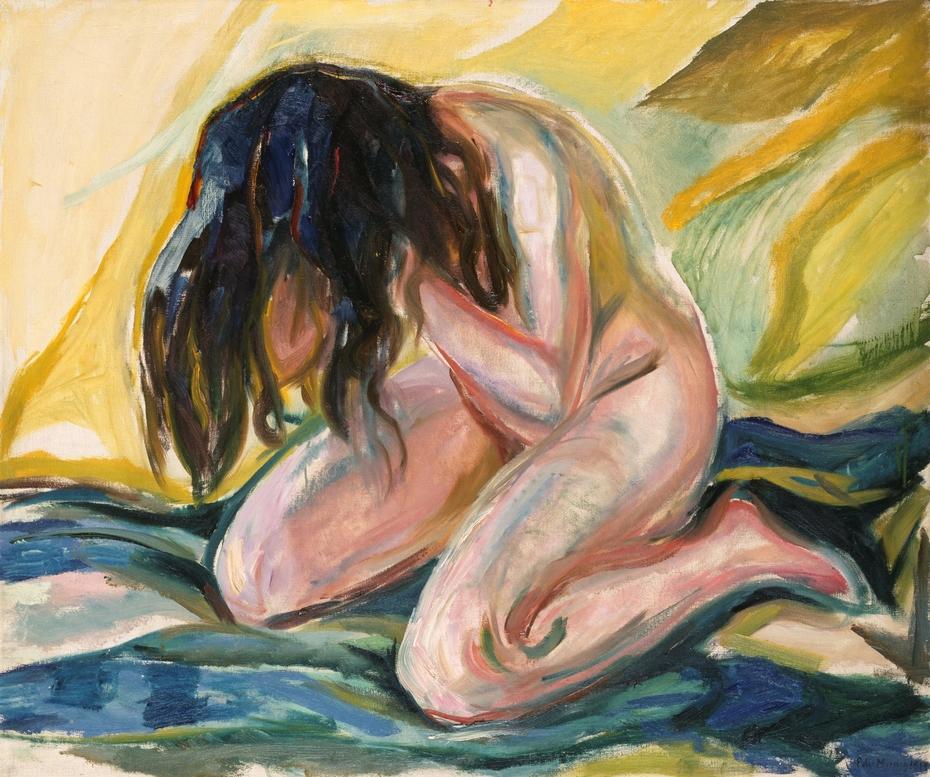 Weeping Nude