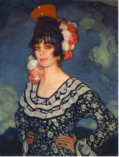 Woman in Andalusian Dress