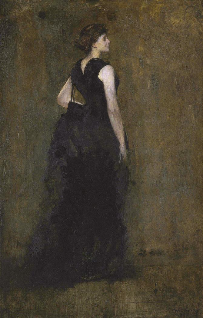 Woman in Black: Portrait of Maria Oakey Dewing