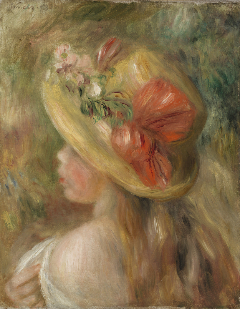 Young Girl with Hat (Jeune fille au chapeau)