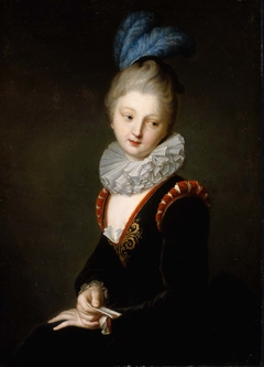 Young Woman with a Love Letter