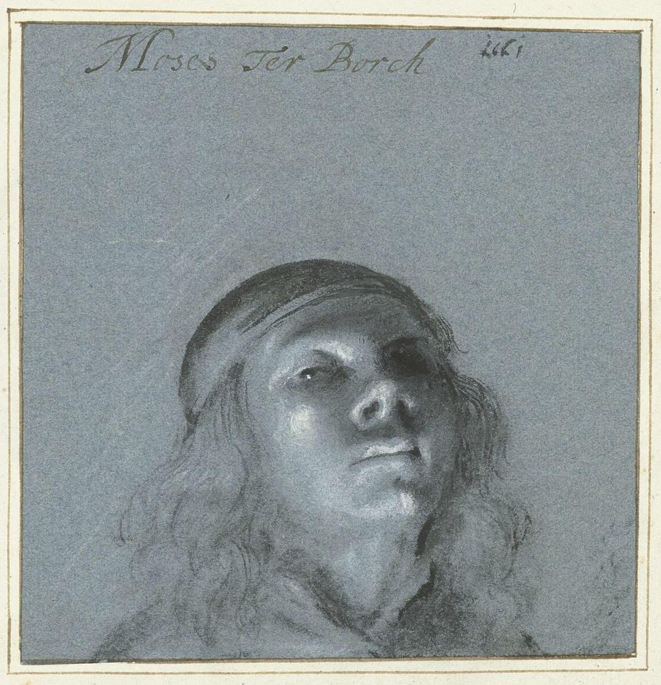 Zelfportret van Moses ter Borch