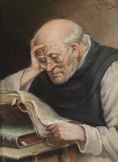 A Reading Monk