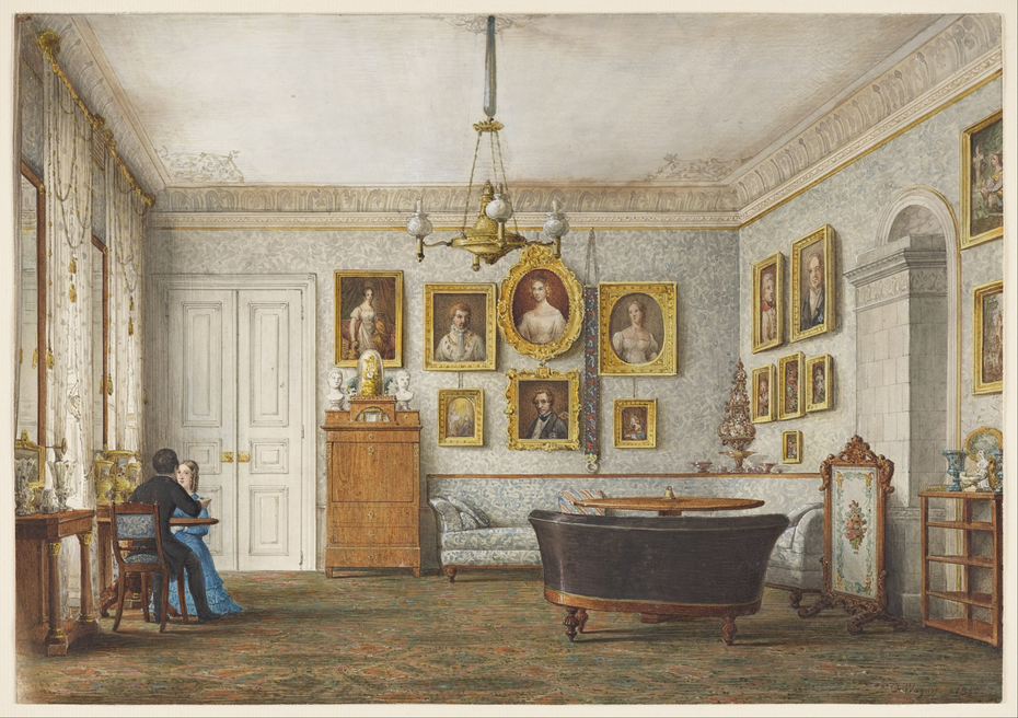 A Salon in a Residence of the Duke of Leuchtenberg