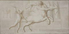 Achilles and the Centaur Cheiron