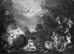 An Allegory with Bacchus, Ceres, Flora and Apollo
