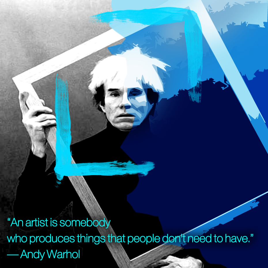 An artist is... - Warhol