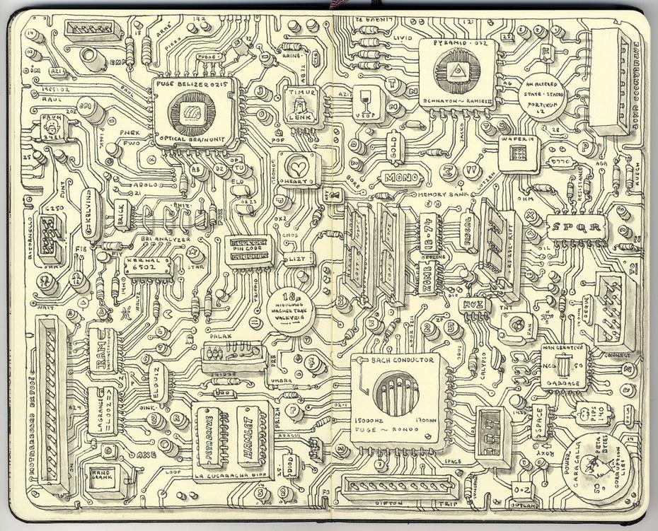 Analog motherboard