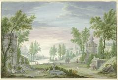 Arcadisch landschap