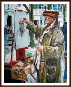 Artist on Montmartre