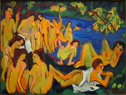 Bathers at Moritzburg