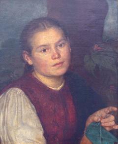 Bildnis der Schwester Agathe