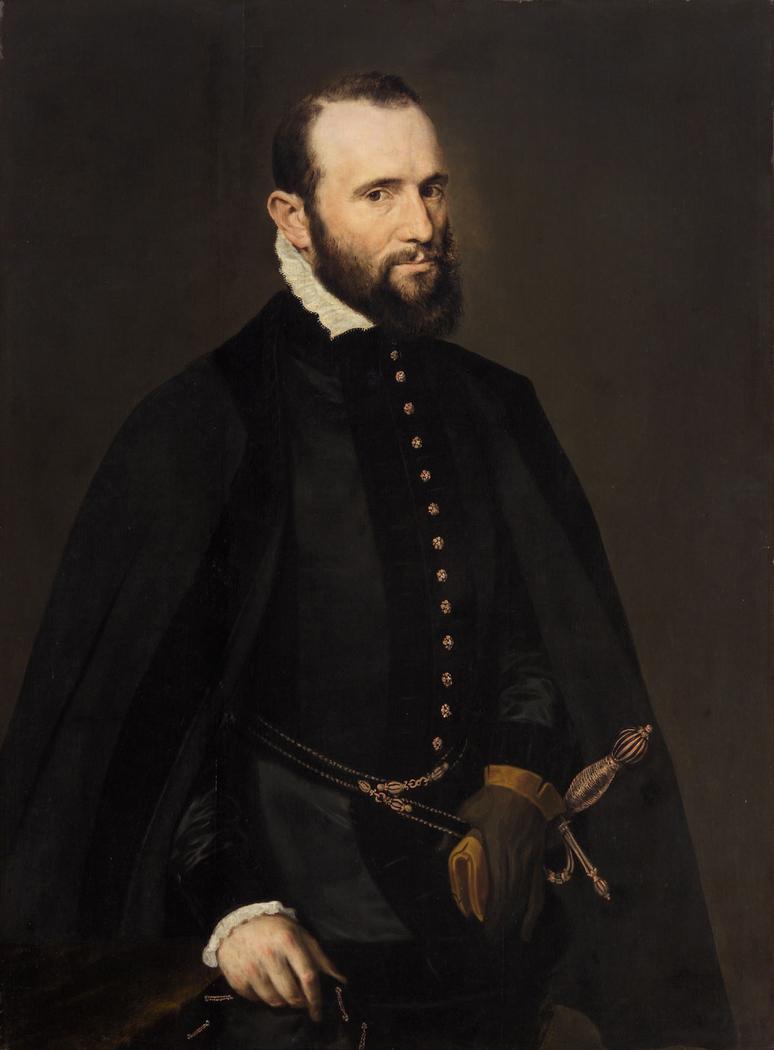Bildnis eines schwarzbärtigen Mannes