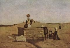 Breton Women at the Fountain