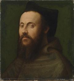 Brustbild eines Geistlichen